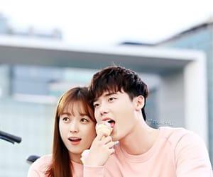 couple, two worlds, and han hyo joo image