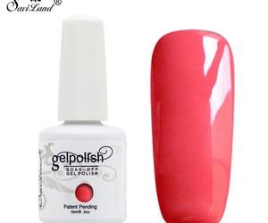 nail lacquer, nail polish, and uv image