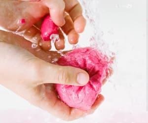 bath, luxury, and pink image
