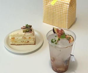 food, delicious, and white image