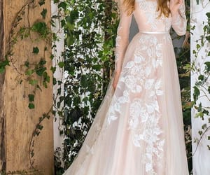 bridal, Couture, and dress image