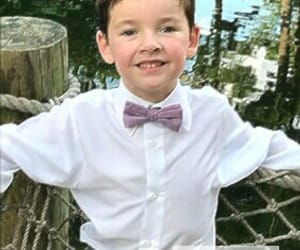 bow tie, boy, and child image