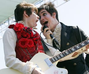 brendon urie, ryan ross, and ryden image