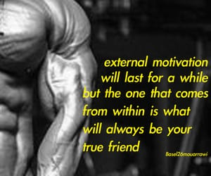 abs, gym, and quotes image