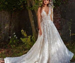 wedding, bride, and beautiful image