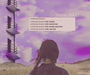 aesthetic, yume nikki, and anime image