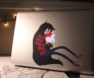 marceline, apple, and adventure time image