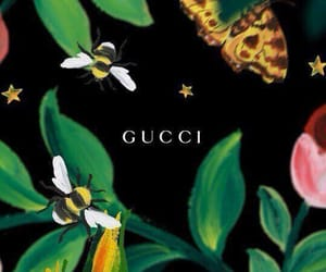 gucci, wallpaper, and bee image