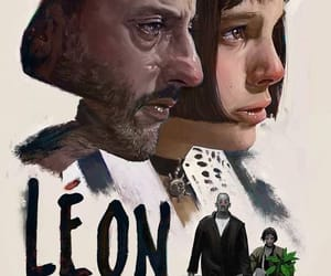 leon, art, and film image