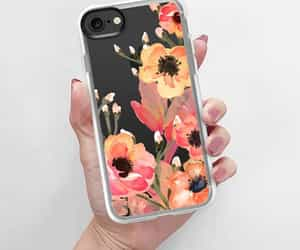 accessories, case, and floral image