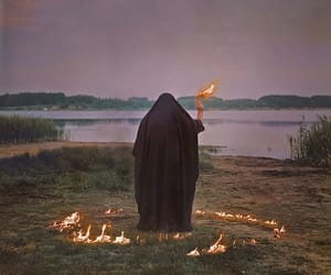 fire and witchcraft image