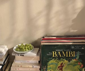 books, bambi, and aesthetic image