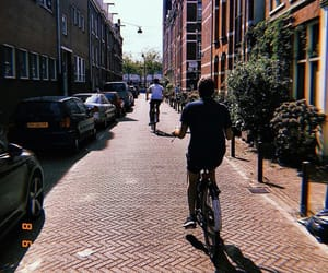 amsterdam, bike, and netherlands image