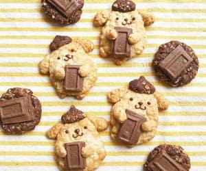 chocolate, Cookies, and cute food image