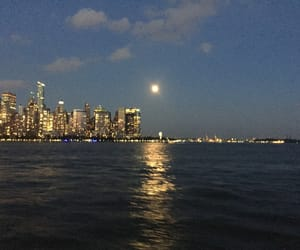 moon, New Jersey, and new york image