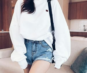 fashion, white, and kfashion image