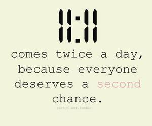 11:11, chance, and second image