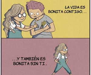 frases, couple, and girls image
