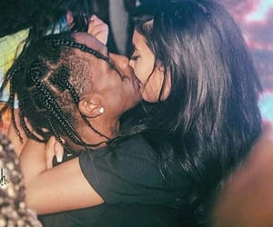 travis scott, kylie jenner, and couple image