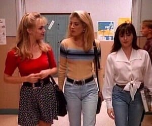 90210, beverly hills 90210, and 90s image