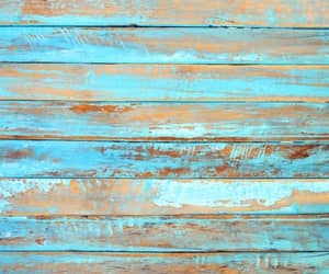 background, teal, and wood image