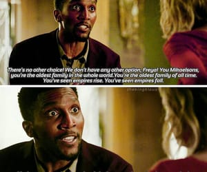 The Originals, freya mikaelson, and vincent griffith image