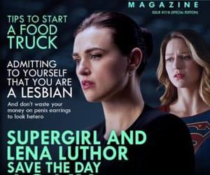 DC, supercorp, and Supergirl image