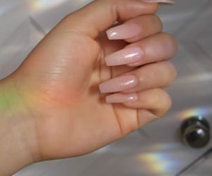 nails, Nude, and pretty image