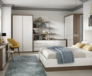 fitted bedroom furniture, fitted bedroom, and luxury fitted bedroom image