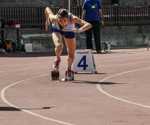 athletics, race, and track image