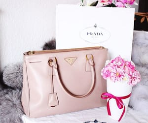 bag and flowers image