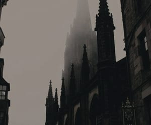 castle, architecture, and dark image
