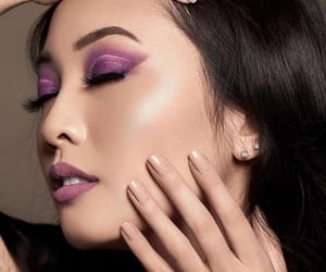 beauty, eyeshadow, and mink image