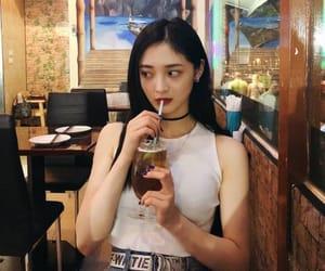 kyulkyung, pristin, and idols drinking image