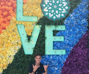 beckham, pride, and rainbow image