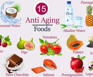foods, natural, and skincare image