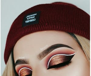 aesthetic, beige, and make-up image