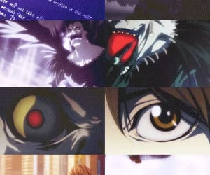 death, eyes, and L image