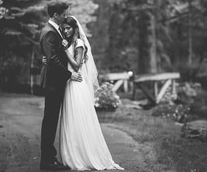 bw wedding portraits