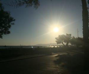 air, beach, and boulevard image