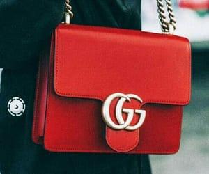 bags, handbags, and rojo image
