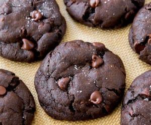 beautiful, chocolate, and Cookies image