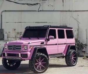 mercedes, pink, and g wagon image