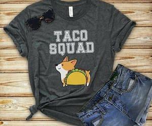 ropa, shorts, and taco image