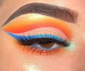 blue, eyebrow, and eyelashes image