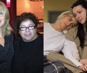 real life, laura prepon, and taylor schilling image