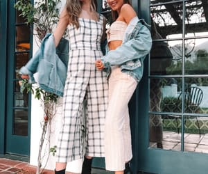 aesthetic, besties, and fashion image