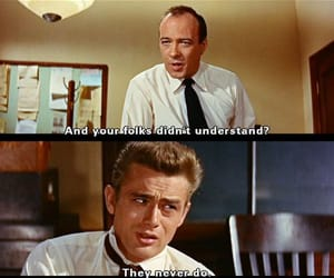 rebel without a cause and james dean image