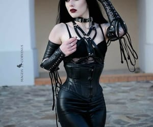 black, gothic, and pale image