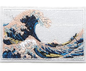 tsunami, waves, and nature design image